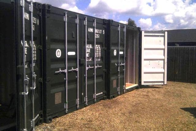 Self-Storage Kidderminster Containers for Safe Keepings